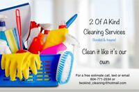 $28/hour cleaning service- insured & bonded