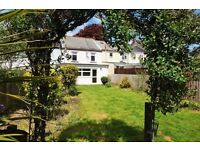 Fantastic opportunity for a Cornish Miners Cottage lovely family home, large garden + potential