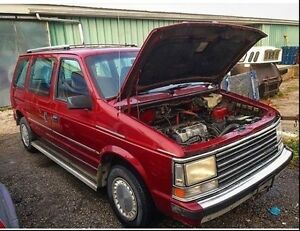 1989 Plymouth Voyager Turbo