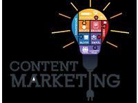 Content Marketing, Journalism, PR Help Required