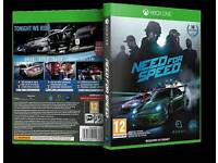 Need For Speed Xbox One s w a p