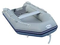 Waveline Dinghy 2.3 metres with oars, pump and carry bag