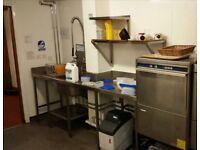 Electrolux Dishwasher & sink