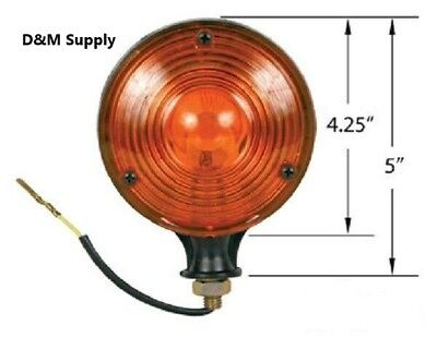 Tractor Caution Lights 2 Pk To Fit Case Ih John Deere Ford