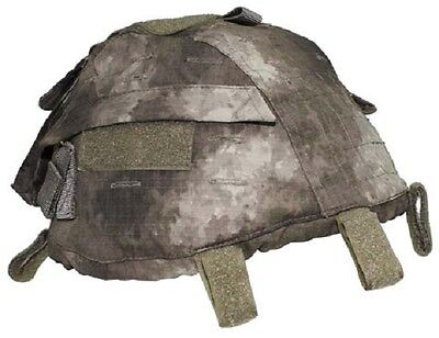 Helmet Cover Pouches Helmbezug W Taschen Hdt Fg Green Camouflage Helm Tarnbezug Militaria Sport