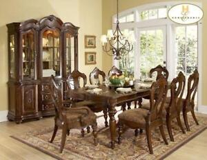 SOLID WOOD FURNITURE  | BRAND NEW DINING COLLECTION AT KITCHEN AND COUCH (BD-1217)