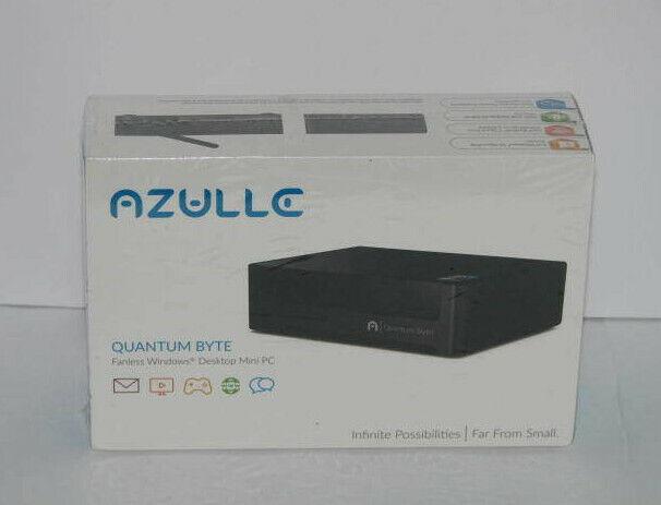 Azulle - Quantum Byte Desktop - Intel Atom - 2gb Memory - Bl