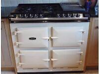 Aga 6/4 range cooker