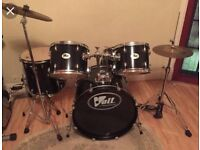 Volt drum kit like new condition