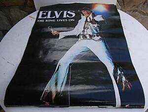 Elvis Presly Collection of  2 Posters and a  Clock Plus More