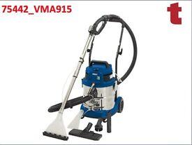 DRAPER 75442 20L 1500W WET DRY SHAMPOO CARPET CLEANER CAR VALET VALETING