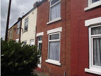 2 Bedroomed mid terraced GCH, Double Glazed, small garage, near town centre and train station