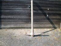 Large Pick Axe With Wooden Handle - Very Heavy