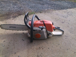 Looking for chainsaw