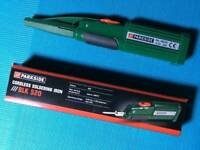 Parkside cordless soldering iron