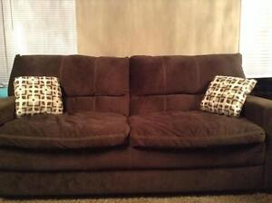 Dark Chocolate Couch for sale! Excellent Shape!