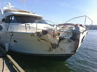 Cosmetic Boat Repairs, Scratches, Chips any damage