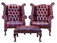 WANTED CHESTERFIELD's SOFA's CHAIR's SUITES's WINGBACK's FOOTSTOOL's SCROLL's LEATHER!!