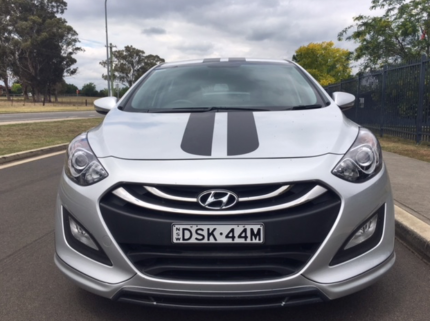 """Hyundai I30 with sports kit and 17"""" mags"""