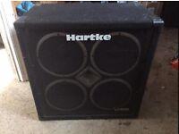 hartke vx4x10 bass amplifier speaker cabinet