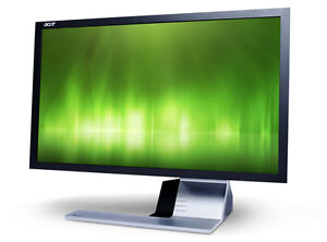 "27"" LED Acer monitor, like new with box."