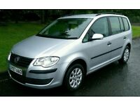 Vw Touran 07 1.9TDi 6speed 7 Seats FSH *Tow Bar*
