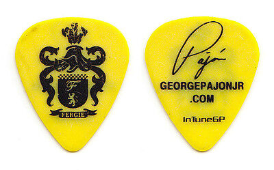 Fergie George Pajon Jr. Signature Guitar Pick - 2007 Solo Tour Black Eyed Peas