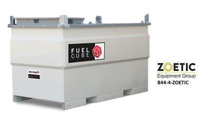 Western Global Fcp500 Fuelcube 500 Gallon Stationary Fuel Storage Tank