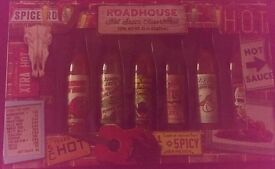 Mixed box of chilli sauces/dips