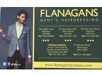 Free gents haircuts (Flanagans training academy)