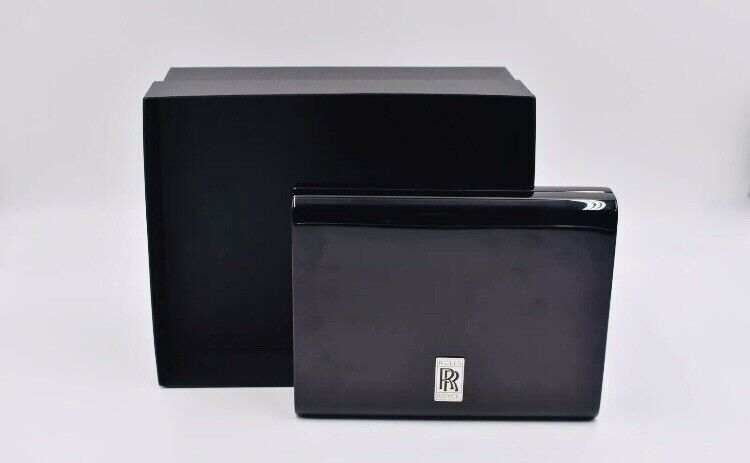 Rolls-Royce Piano Wood Black Lacquered Key-box NEW in Factory Box