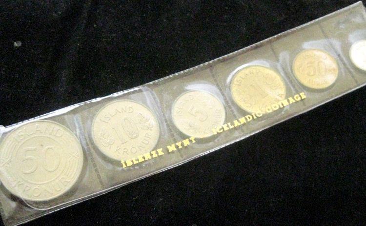 Iceland 1973 6 pc Mint Set BU