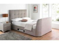 TV Bed KingSize with Free TV & 2 Drawers