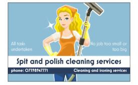 Spit & polish cleaning service