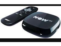 Now tv box. (Black)