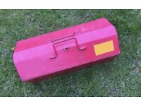 Kennedy Metal Tool Box Carry Case Storage