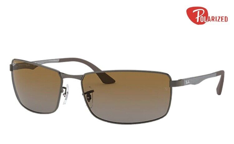 LENSES ONLY!! Ray-Ban RB3498 Polarized Brown Gradient lenses, size 61