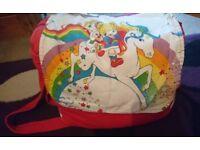 Rainbow brite changing bag!