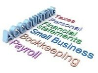 Annual accounts, Tax returns, Payroll, Bookkeeping