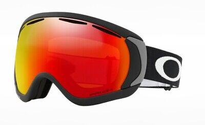 Oakley Canopy Snow Goggles Ski Snow Boarding Matte Black w/ Prizm Torch Iridium