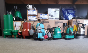 PREMIUM SUMP PUMPS - AVAILABLE ALL WEEKEND!!!