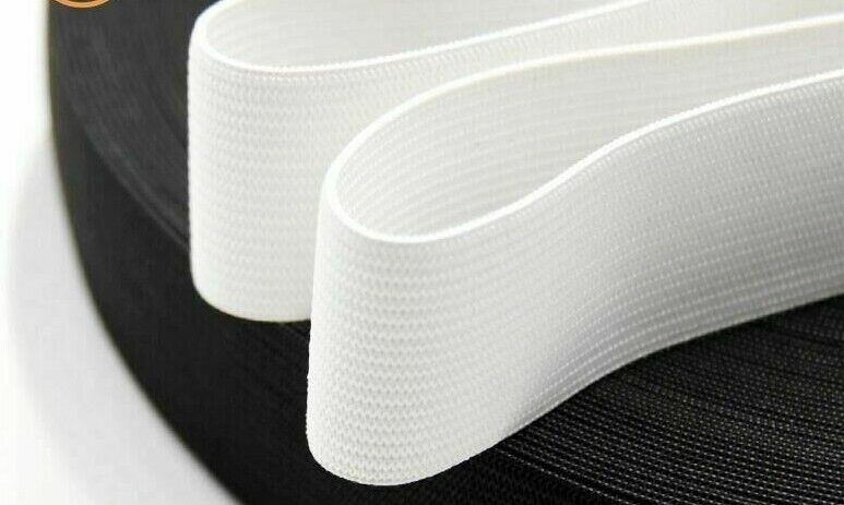 Country Brook Design® 3//16 Inch White Elastic Polyester Webbing 100 Yards