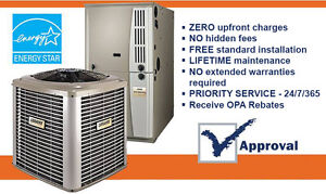 RENT HIGH EFFICIENCY AIR CONDITIONER AND FURNACE RENT TO OWN