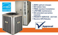 Furnace - Air Conditioner - Rental -No Credit Check - CALL NOW
