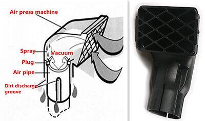 "Universal Fit Off Road Replacement Mudding Snorkel Head Air Intake Ram 3"" Black"
