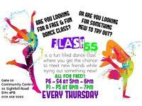 FREE AND FUN DANCE CLASS!