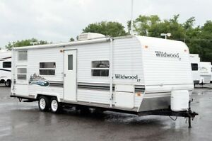 2004 will wood le  camping trailer