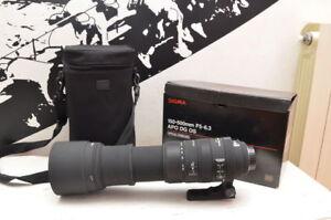 Sigma APO 150-500mm F5-6.3 DG OS HSM pour Nikon