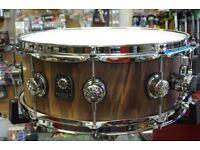 """Natal 14x5.5"""" Walnut Stave Snare Drum"""