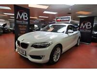 2015 BMW 2 SERIES 218d SE [Start Stop] Step Auto Sat Nav Bluetooth Audio